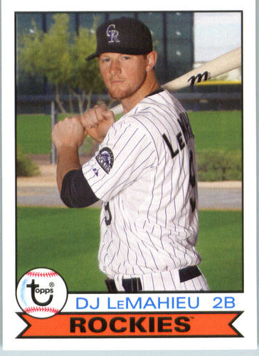 Photo of 2016 Topps Archives #143 DJ LeMahieu