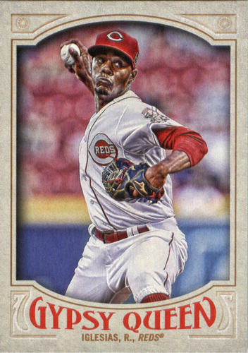 Photo of 2016 Topps Gypsy Queen #193 Raisel Iglesias