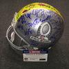 NFL - 2018 Pro Bowl multi signed proline helmet w/ over 60 signatures (including Russell Wilson, Drew Brees, Le'Veon Bell, Derek Carr, Alvin Kamara) 1 Heavily smudged signature