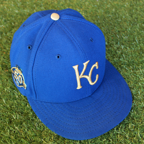 Photo of Game-Used 50 Seasons Cap: Dale Sveum (Size 7 1/4 - CLE @ KC - 9/28/18)