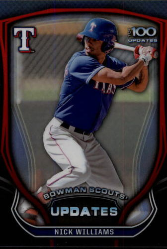 Photo of 2015 Bowman Chrome Bowman Scouts Update #BSUNW Nick Williams