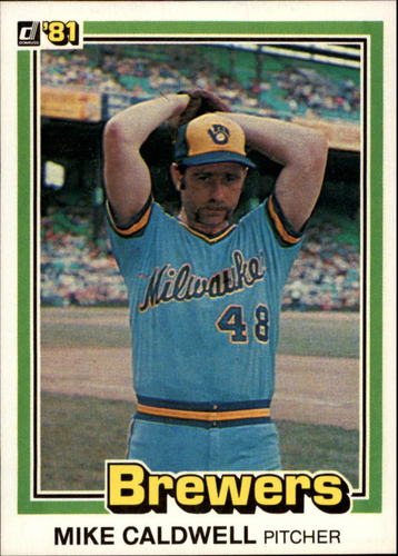 Photo of 1981 Donruss #86 Mike Caldwell
