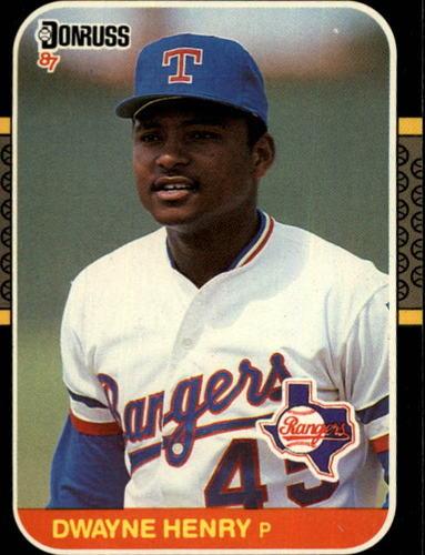 Photo of 1987 Donruss #637 Dwayne Henry