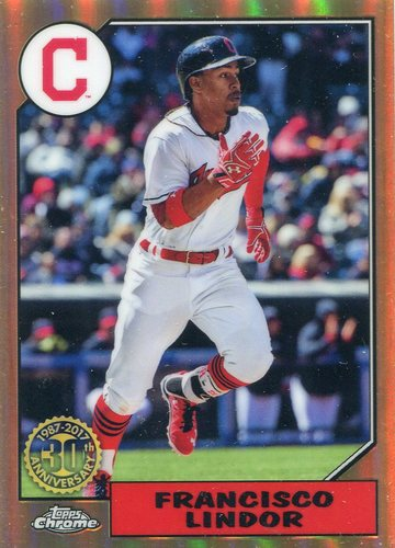 Photo of 2017 Topps Chrome '87 Topps #87T11 Francisco Lindor