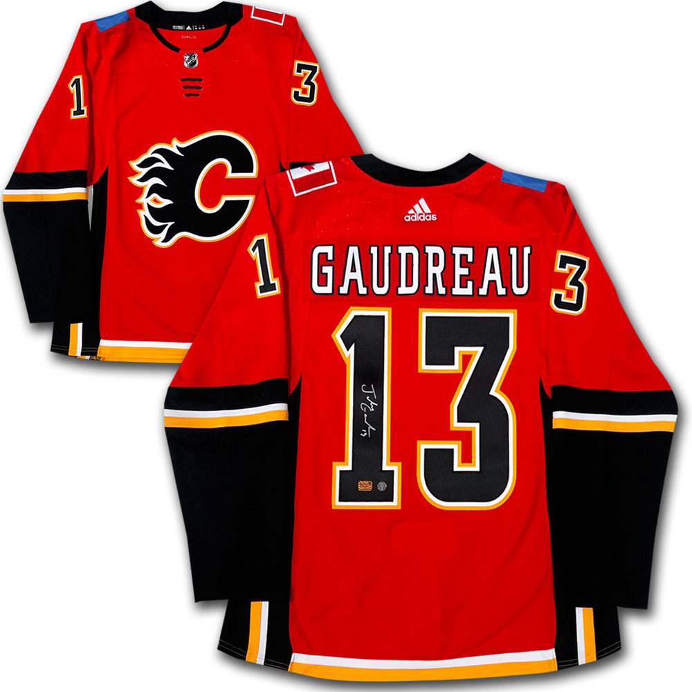 Johnny Gaudreau Autographed Calgary Flames adidas Pro Jersey