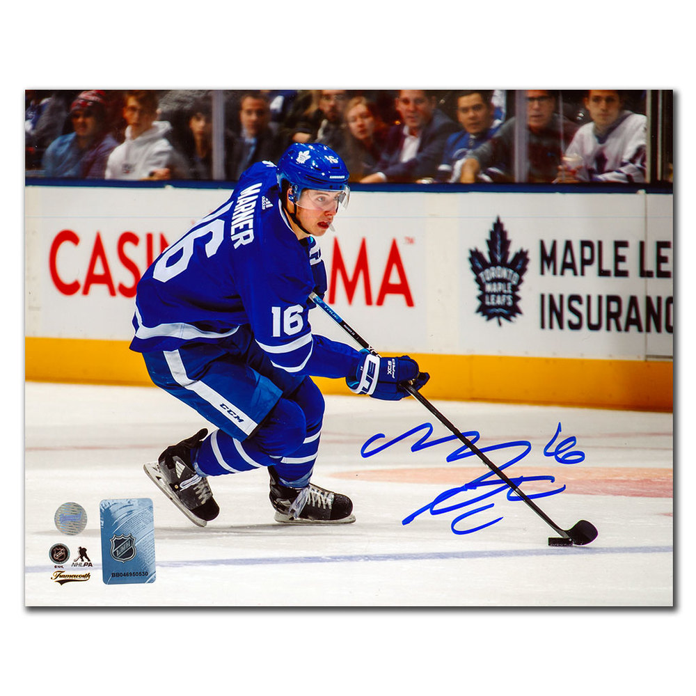 Mitch Marner Toronto Maple Leafs RUSH Autographed 8x10