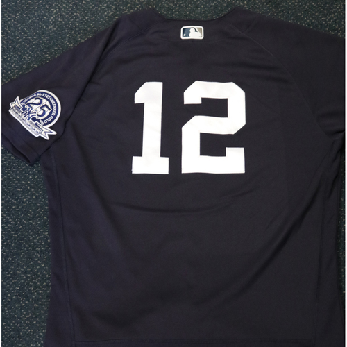 Photo of Team-Issued Spring Training Jersey - Rosell Herrera - #12 - Jersey Size - 44