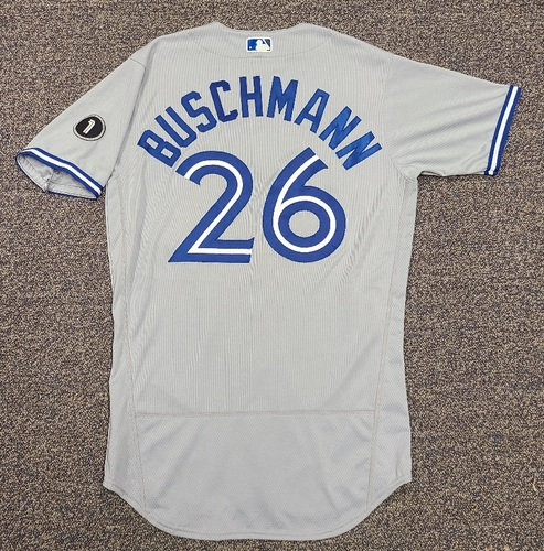 Photo of Authenticated Team Issued Jersey: #26 Matt Buschmann (2020 Season). Set 1. Size 42.