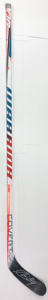 #44 Miles Wood Game Used Stick - Autographed - New Jersey Devils