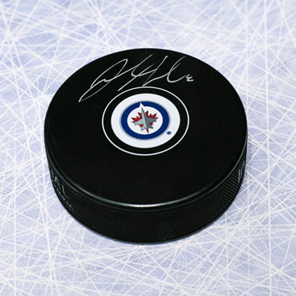 Jacob Trouba Winnipeg Jets Autographed Hockey Puck