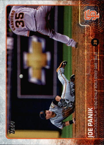 Photo of 2015 Topps #449 Joe Panik HL