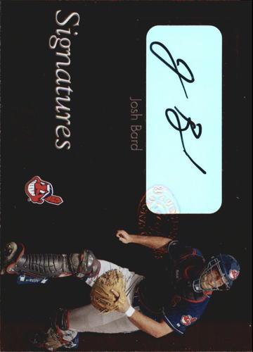 Photo of 2003 Leaf Clubhouse Signatures Bronze #3 Josh Bard