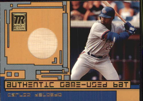 Photo of 2001 Topps Reserve Game Bats #TRRCDI Carlos Delgado