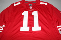 49ERS - ALEX SMITH SIGNED 49ERS REPLICA JERSEY - SIZE XL