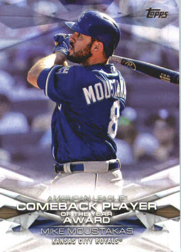 Photo of 2018 Topps MLB Awards #MLBA6 Mike Moustakas