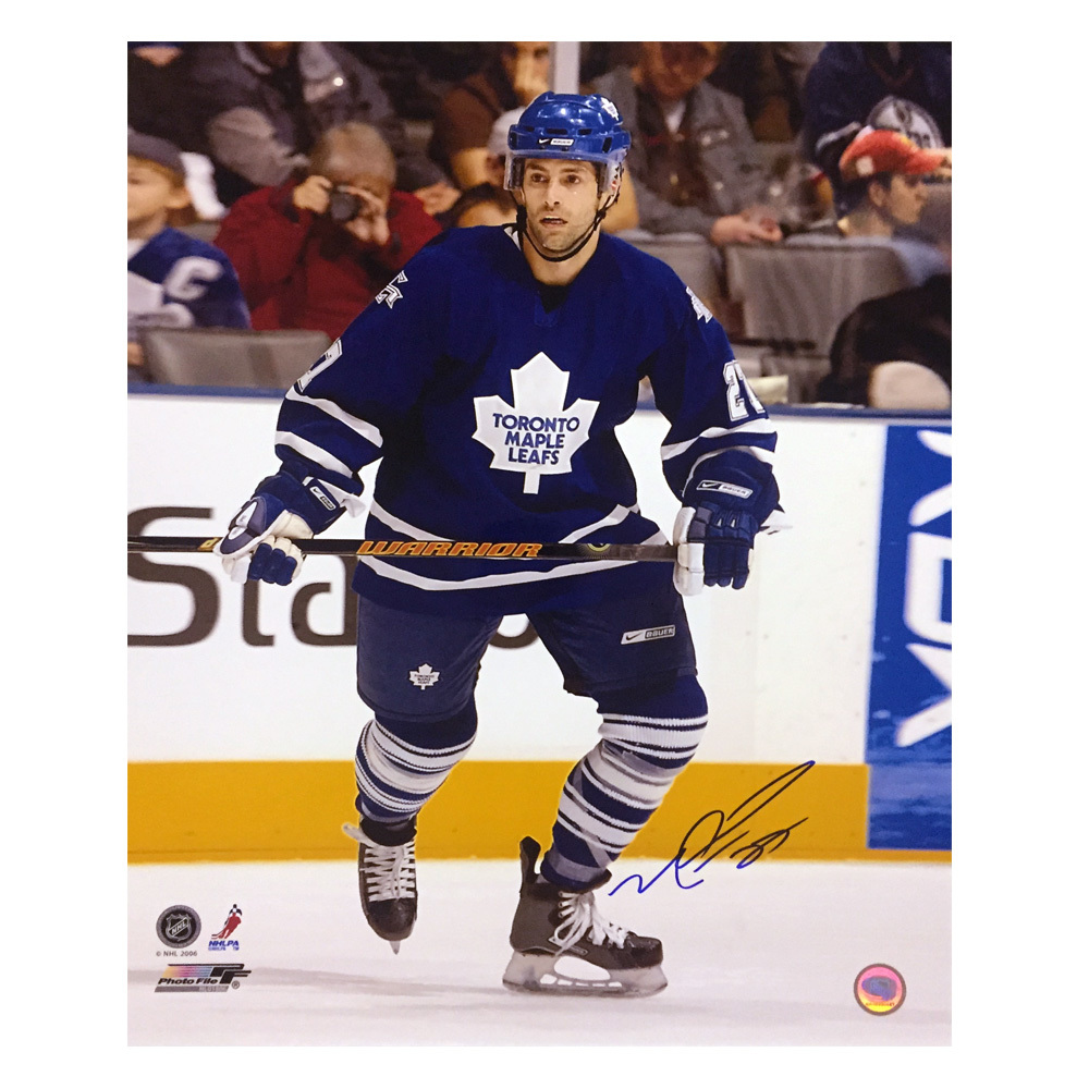 MICHAEL PECA Signed Toronto Maple Leafs 16 X 20 Photo - 79081