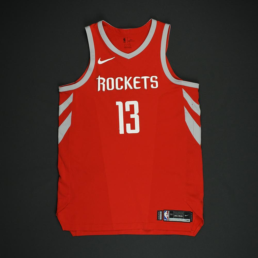 James Harden - Houston Rockets - NBA Christmas Day '17 Game-Issued Jersey