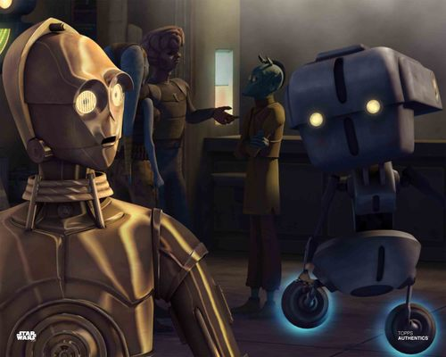 C-3PO and Todo 360