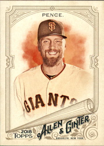 Photo of 2018 Topps Allen and Ginter #143 Hunter Pence