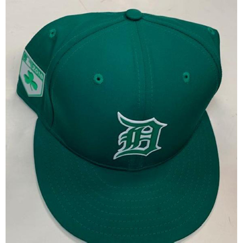 Photo of Game-Used St. Patrick's Day Cap: Matt Boyd