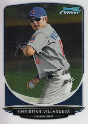 Photo of 2013 Bowman Chrome Prospects #BCP38 Christian Villanueva