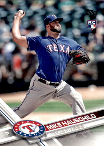 Photo of 2017 Topps Update #US242 Mike Hauschild RC