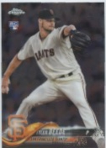 Photo of 2018 Topps Chrome Update #HMT4 Tyler Beede RC