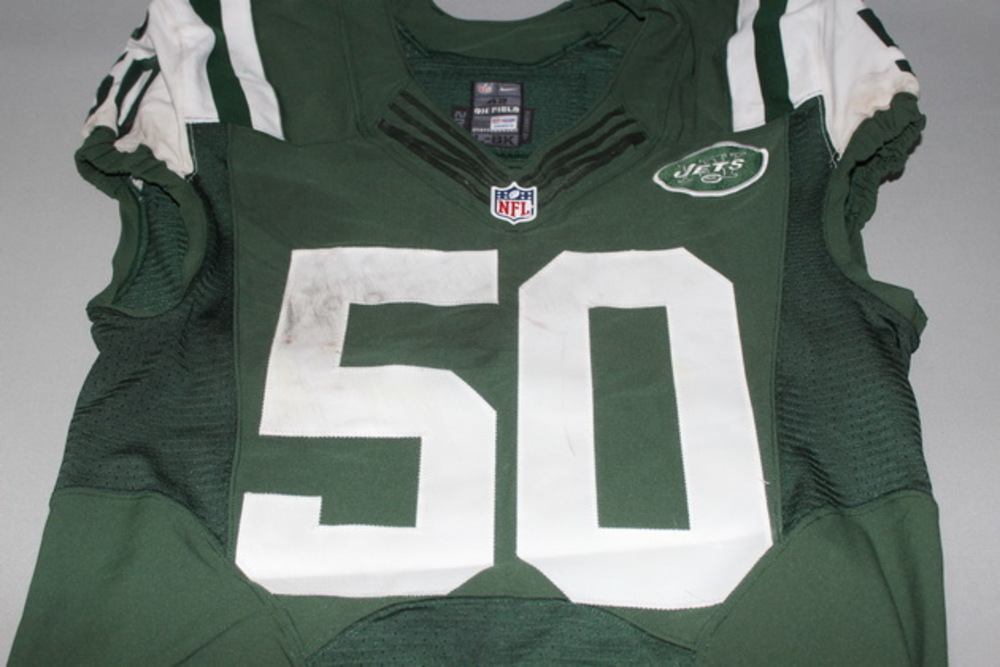 STS - Jets Darron Lee game worn Jets jersey (November 2016)