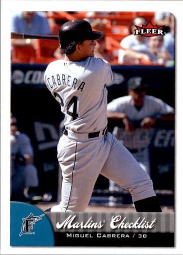 Photo of 2007 Fleer #381 Miguel Cabrera CL