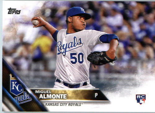 Photo of 2016 Topps #606 Miguel Almonte RC