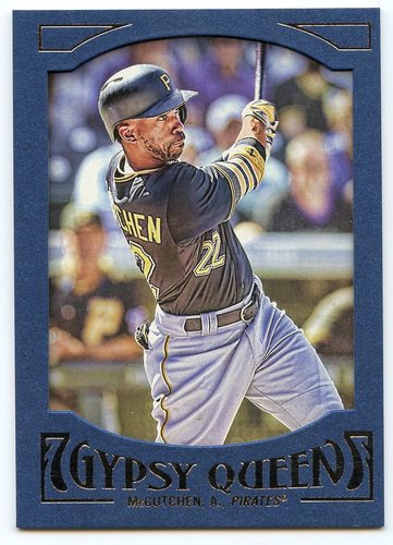 Photo of 2016 Topps Gypsy Queen Framed Blue #88 Andrew McCutchen