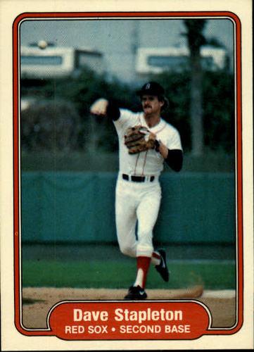 Photo of 1982 Fleer #308 Dave Stapleton