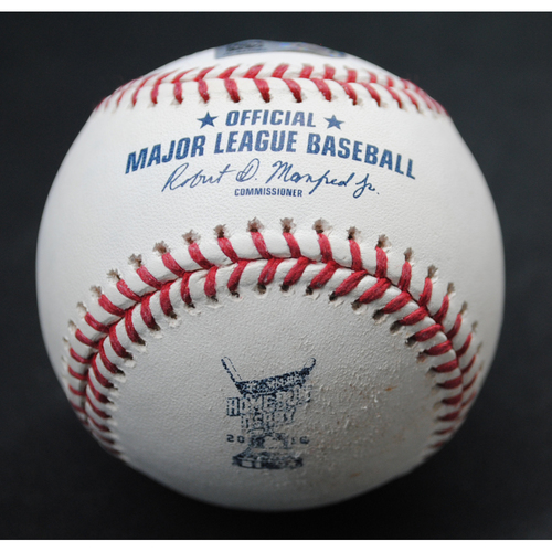 Photo of 2018 Home Run Derby (07/16/18) - Game-Used Baseball - Max Muncy (Los Angeles Dodgers) - Round 1, HR #11