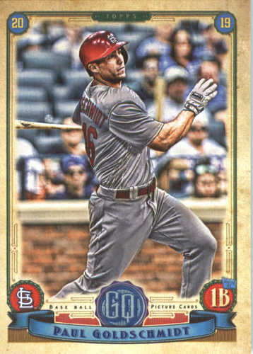 Photo of 2019 Topps Gypsy Queen #210 Paul Goldschmidt