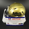 Legends - Buccaneers Warrick Dunn Signed NFL 100 Mini Helmet