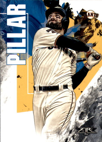 Photo of 2019 Topps Fire #83 Kevin Pillar