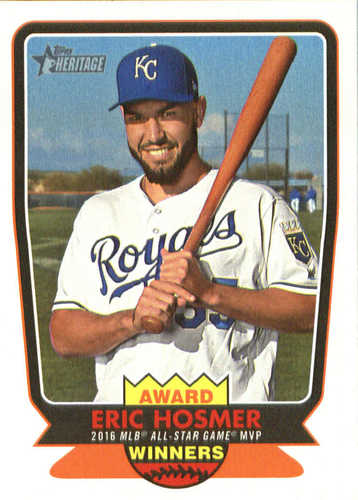 Photo of 2017 Topps Heritage Award Winners #AW7 Eric Hosmer