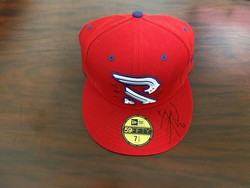 Photo of Steele Walker Autographed Rayados hat