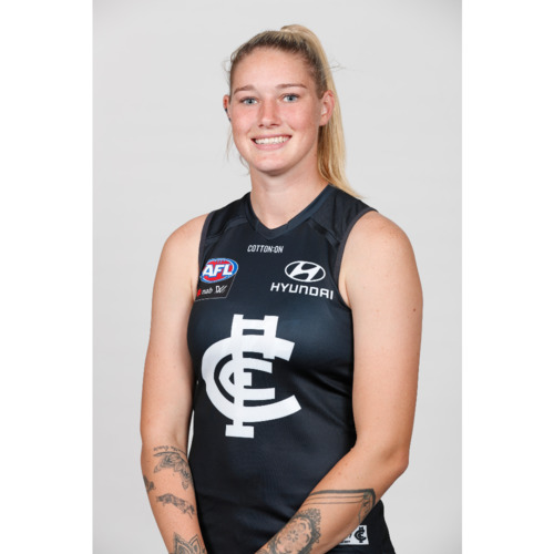 Photo of 2021 AFLW Indigenous Player Guernsey - Tayla Harris