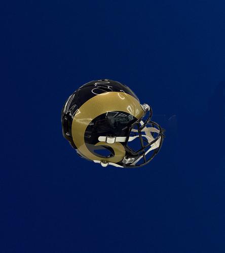 Photo of Navy and Gold Speed Replica Helmet