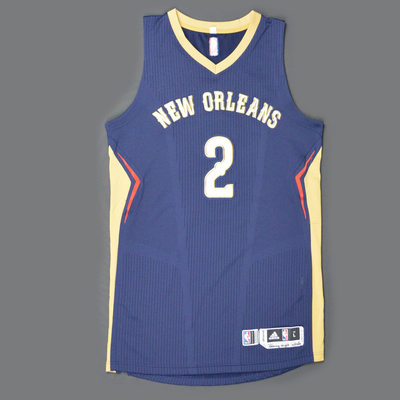 2fefbd565a1 Nate Robinson - New Orleans Pelicans - Game-Worn Jersey - Kia NBA Tip-