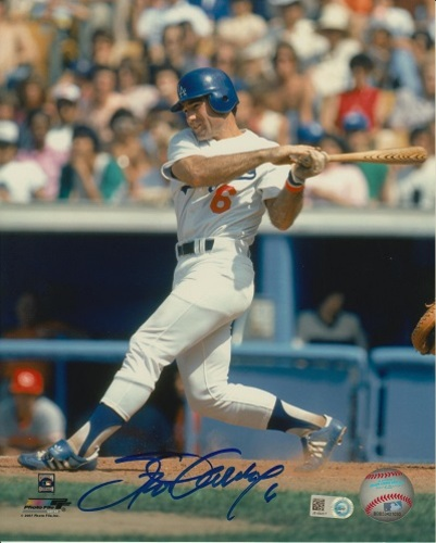 Photo of Steve Garvey Autographed 8x10 - Hitting