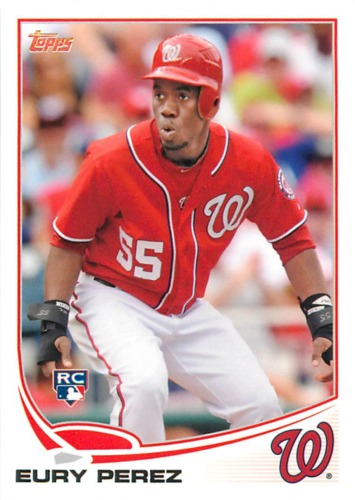 Photo of 2013 Topps #170 Eury Perez RC