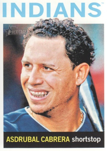 Photo of 2013 Topps Heritage #31 Asdrubal Cabrera