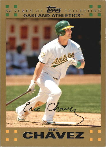 Photo of 2007 Topps Gold #487 Eric Chavez