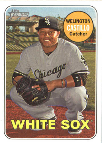 Photo of 2018 Topps Heritage #174 Welington Castillo