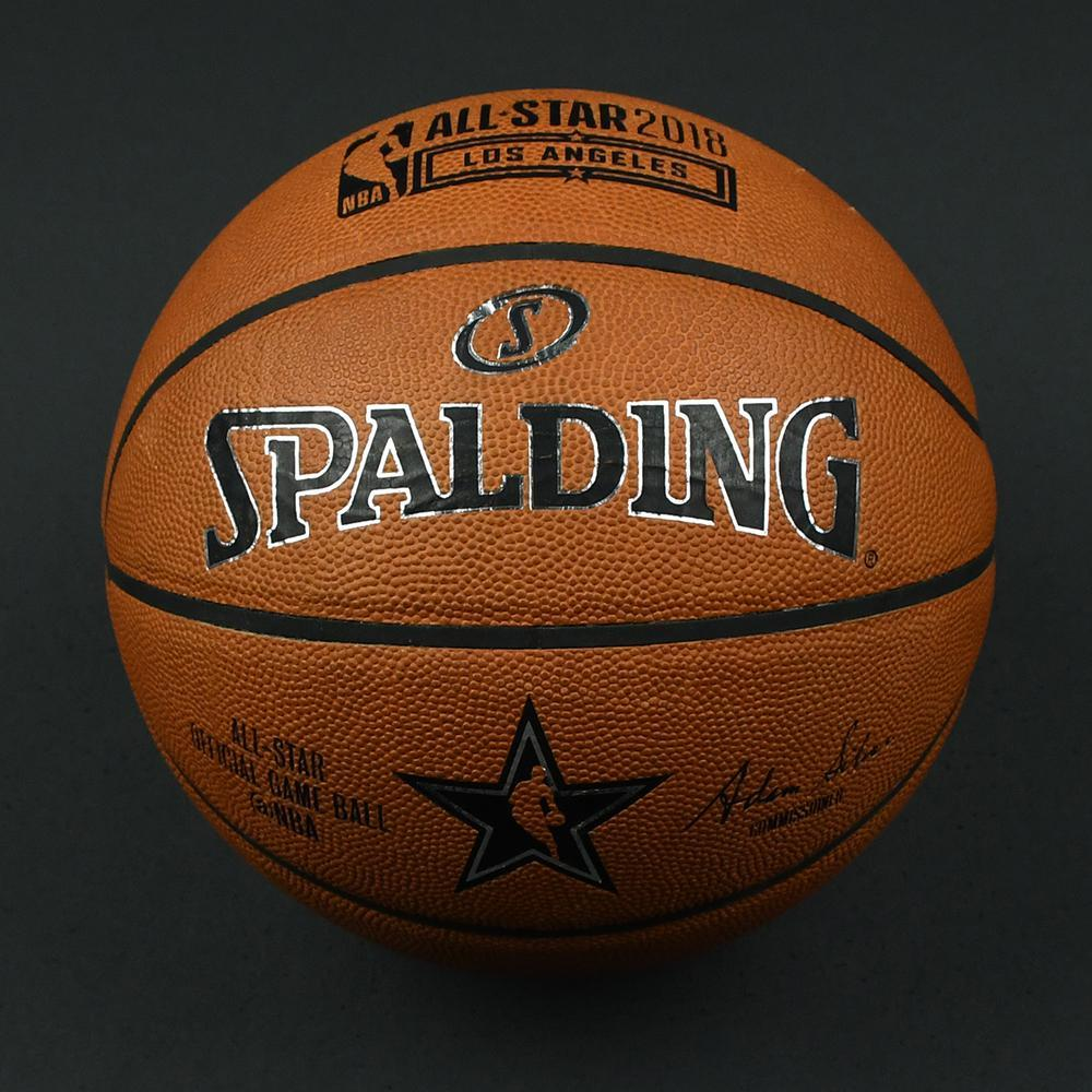 NBA All-Star Game and Mtn Dew Kickstart Rising Stars 2018 - Practice-Used Basketball