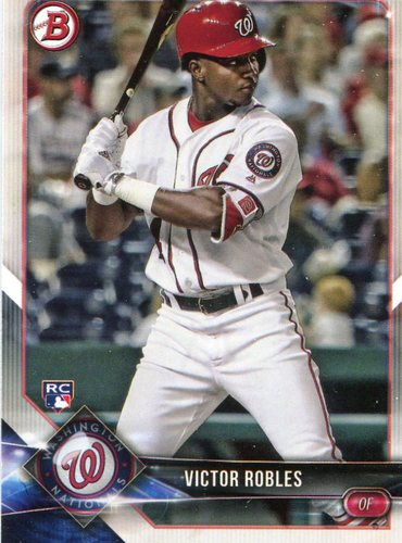 Photo of 2018 Bowman #6 Victor Robles -- Rookie Card