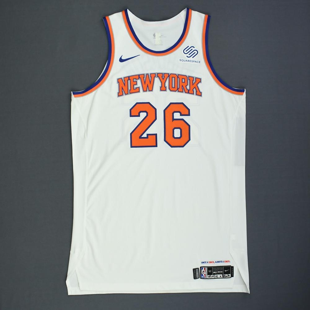 new concept 8b934 08baa Mitchell Robinson - New York Knicks - Rookie-Debut - Game ...