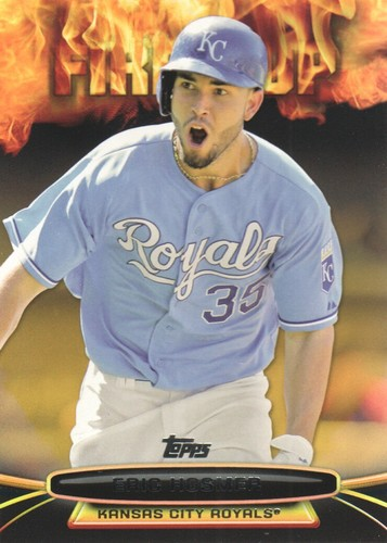 Photo of 2014 Topps Opening Day Fired Up #UP16 Eric Hosmer